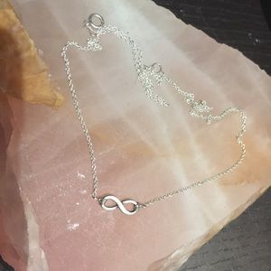 Jewelry - Sterling Silver Eternity Necklace